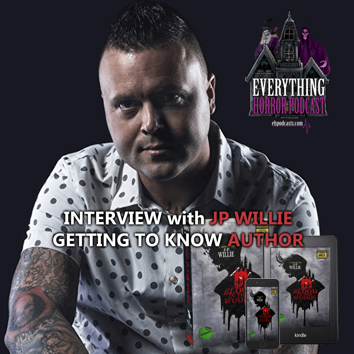"""Interview: JP Willie """"Getting To Know Author"""""""