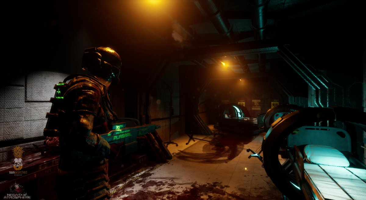 Sci-Fi Horror Game Negative Atmosphere Gets an EGX Demo Teaser- Run