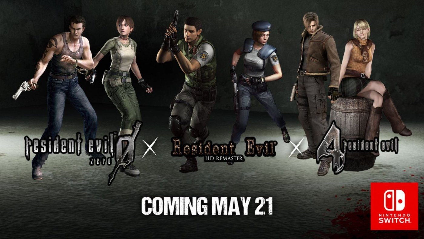 3 Fan Favorite Resident Evil Horror Games Released Today