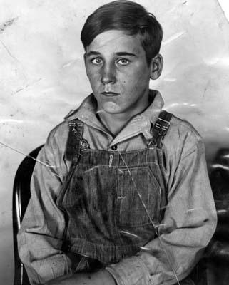 "Sanford Clark, 15, who asserted four boys were slain on a ""murder farm"" by Gordon Stewart Northcott, 24."