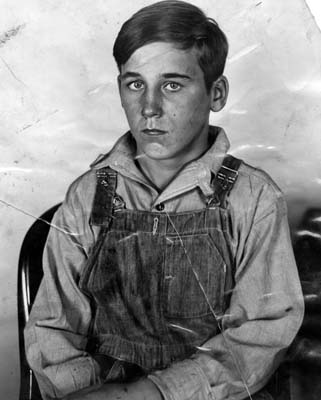 "Sanford Clark, 15, who asserted four boys were slain on a ""murder farm"" by Gordon Stewart Northcott, 24."