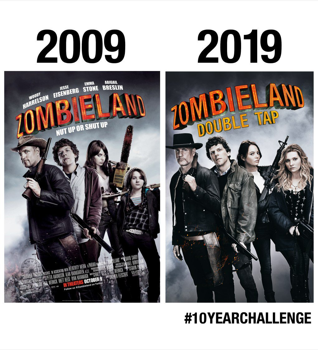 Zombieland Double Tap Movie's Official Trailer & Official